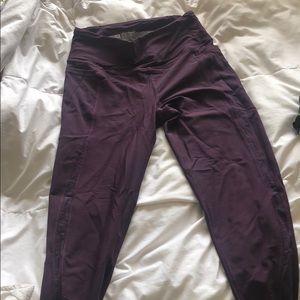 Vicorias secret sport spandex purple leggings